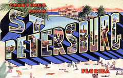 Greetings from St Petersburg Florida
