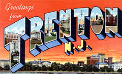 Greetings from Trenton New Jersey