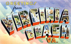 Greetings from Virginia Beach Virginia