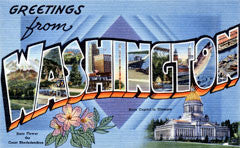 Greetings from Washington Postcards