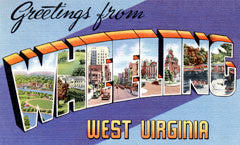 Greetings from Wheeling West Virginia