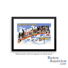 Greetings from Augusta Georgia GA 1 Postcard Framed Wall Art
