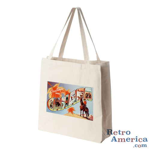 Greetings from Canada Canada 1 Postcard Tote Bag