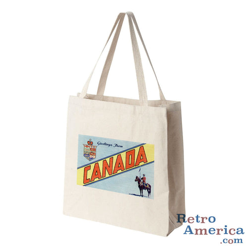 Greetings from Canada Canada 2 Postcard Tote Bag