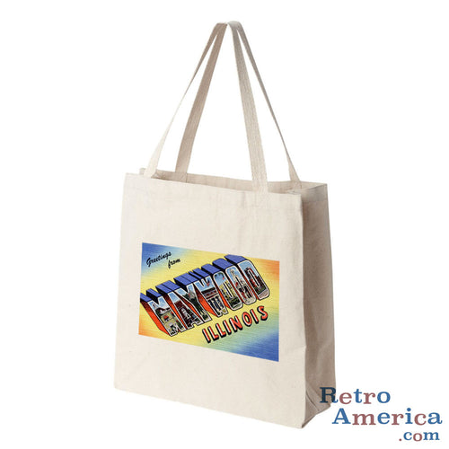 Greetings from Maywood Illinois IL Postcard Tote Bag