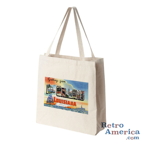 Greetings from new orleans louisiana retroamerica greetings from new orleans louisiana la 2 postcard tote bag m4hsunfo