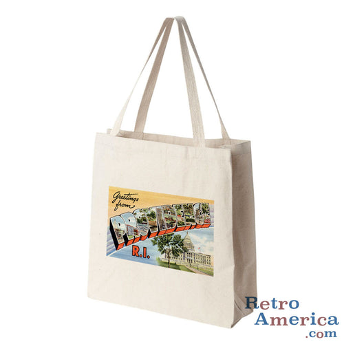Greetings from Providence Rhode Island RI 2 Postcard Tote Bag