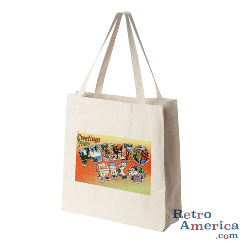 Greetings from puerto rico retroamerica greetings from puerto rico pr postcard tote bag m4hsunfo
