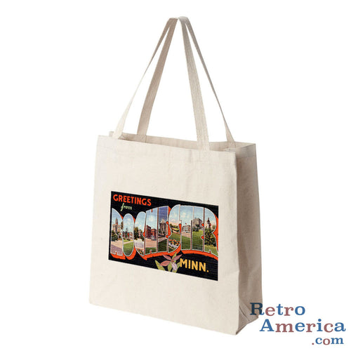 Greetings from Rochester Minnesota MN 1 Postcard Tote Bag