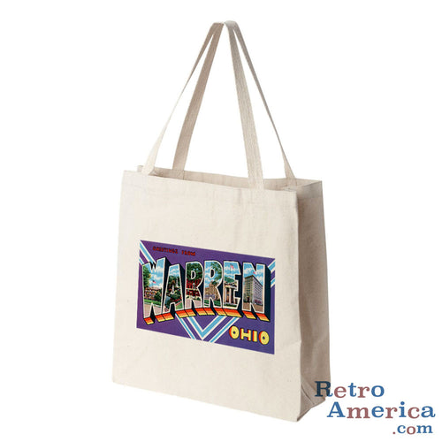 Greetings from Warren Ohio Dc Postcard Tote Bag