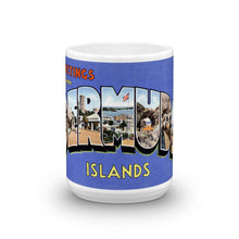 Greetings from Bermuda Unique Coffee Mug, Coffee Cup