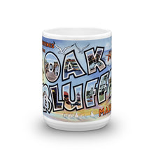 Greetings from Oak Bluffs Massachusetts Unique Coffee Mug, Coffee Cup