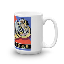 Greetings from Dallas Texas Unique Coffee Mug, Coffee Cup 1