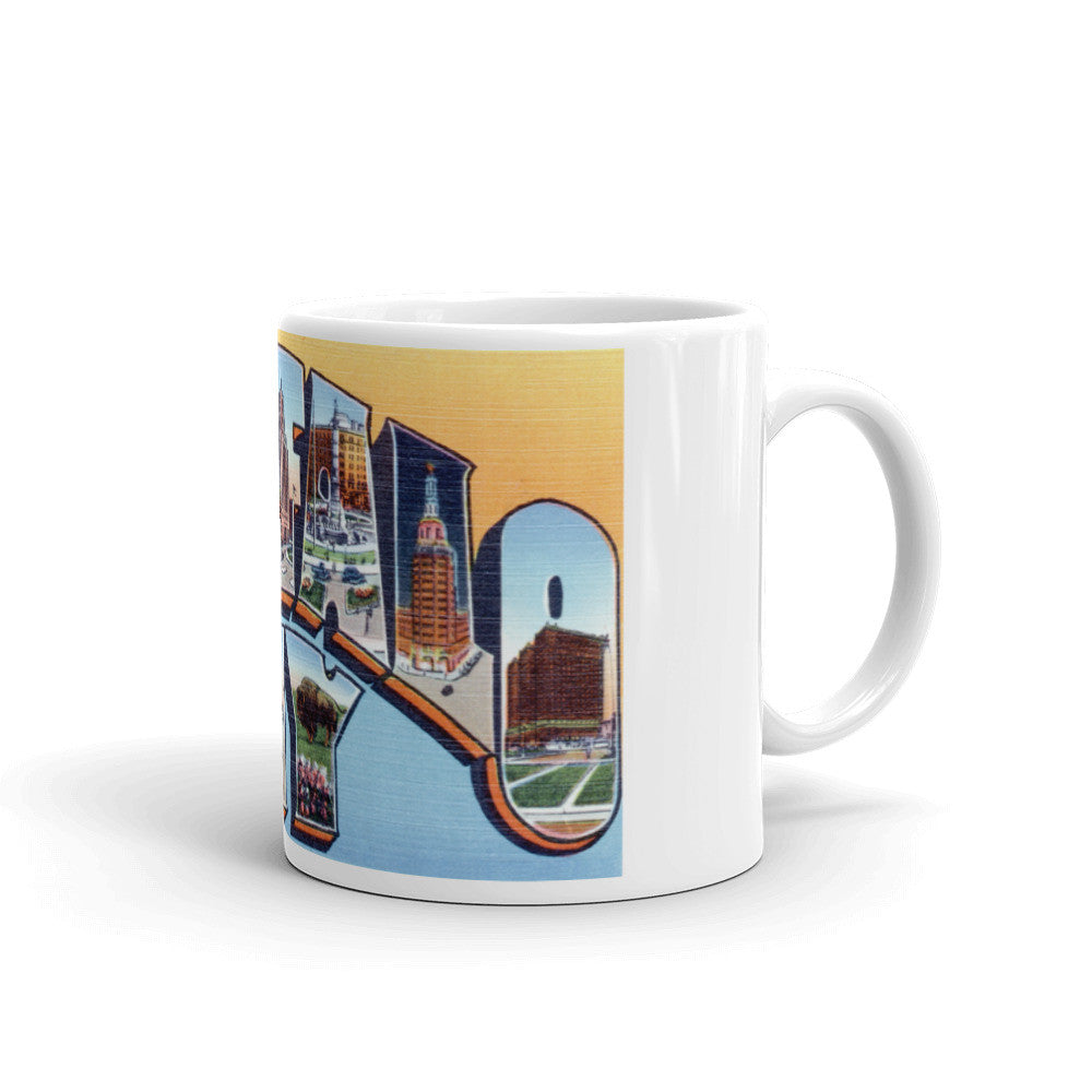 Greetings from Buffalo New York Unique Coffee Mug, Coffee Cup 2