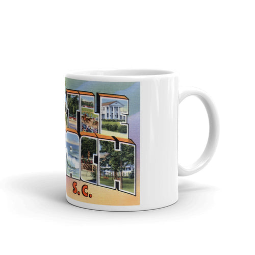 Greetings from Myrtle Beach South Carolina Unique Coffee Mug, Coffee Cup 3