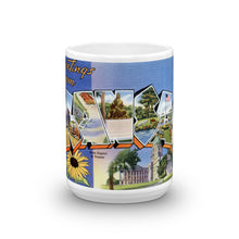 Greetings from Kansas Unique Coffee Mug, Coffee Cup 1