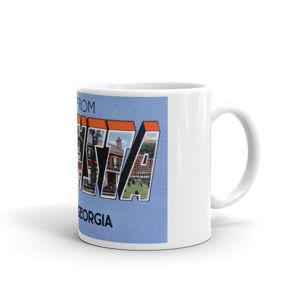 Greetings from Augusta Georgia Unique Coffee Mug, Coffee Cup 2