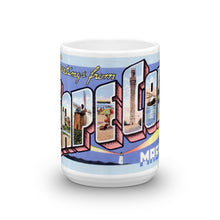 Greetings from Cape Cod Massachusetts Unique Coffee Mug, Coffee Cup