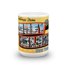 Greetings from Coney Island New York Unique Coffee Mug, Coffee Cup 3