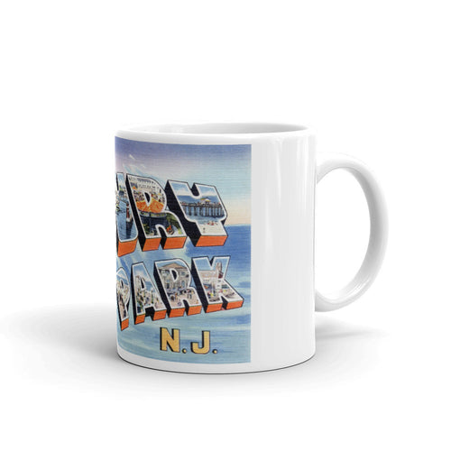 Greetings from Asbury Park New Jersey Unique Coffee Mug, Coffee Cup 3