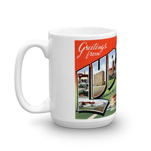 Greetings from Lubbock Texas Unique Coffee Mug, Coffee Cup