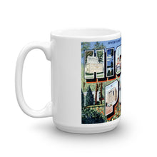 Greetings from High Point North Carolina Unique Coffee Mug, Coffee Cup