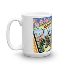 Greetings from Pasadena California Unique Coffee Mug, Coffee Cup