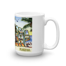 Greetings from Daytona Beach Florida Unique Coffee Mug, Coffee Cup 1