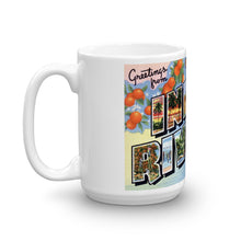Greetings from Indian River Florida Unique Coffee Mug, Coffee Cup
