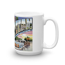 Greetings from Manhattan Kansas Unique Coffee Mug, Coffee Cup
