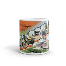 Greetings from Missouri Unique Coffee Mug, Coffee Cup 5