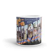 Greetings from California Unique Coffee Mug, Coffee Cup 2