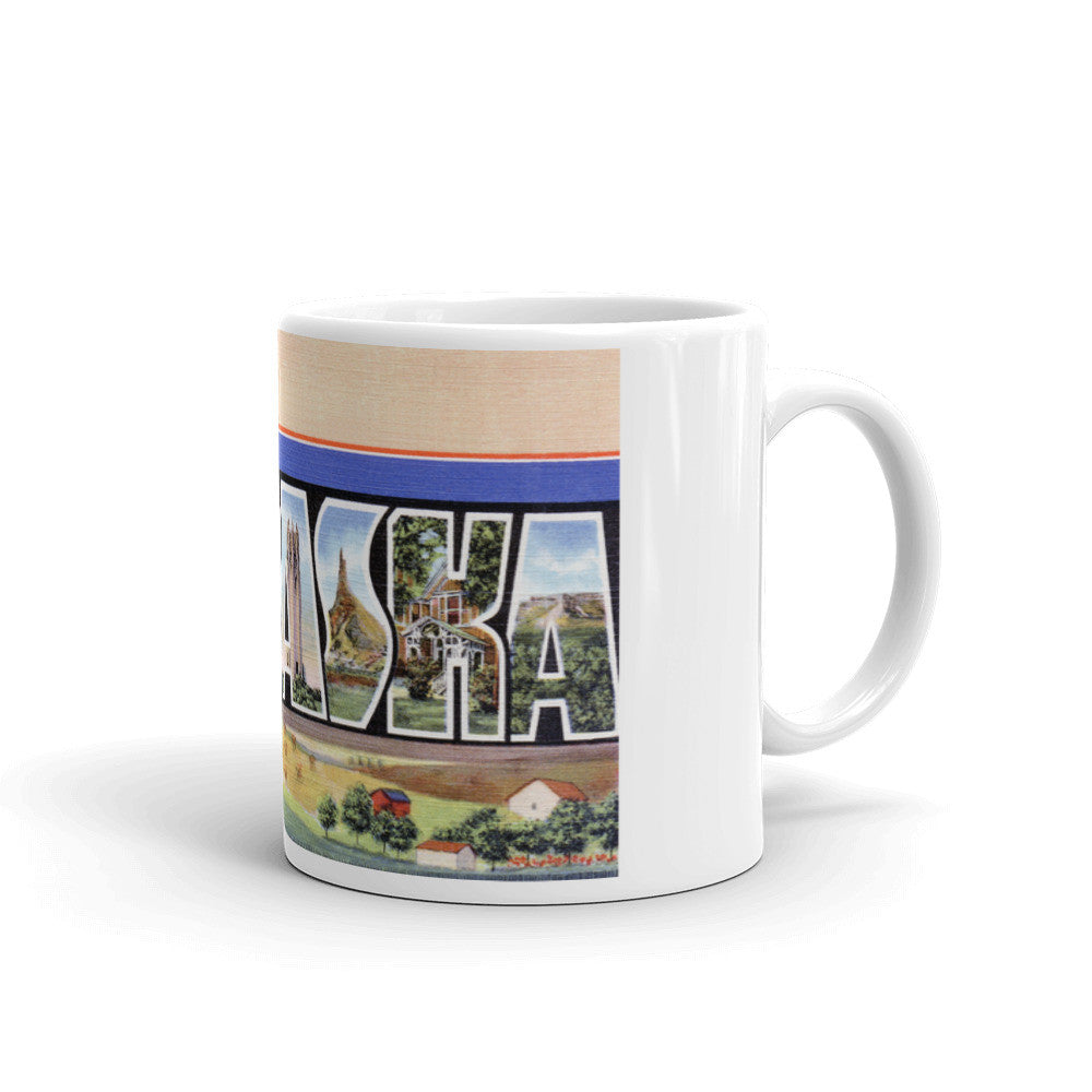 Greetings from Nebraska Unique Coffee Mug, Coffee Cup 2