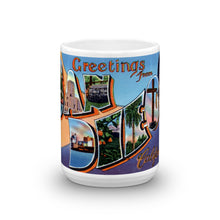 Greetings from San Diego California Unique Coffee Mug, Coffee Cup 3