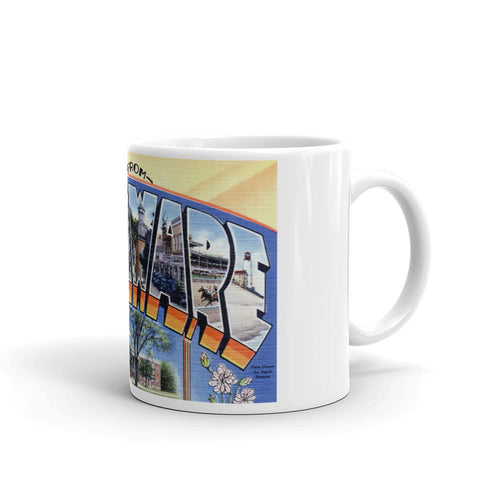 Greetings from Delaware Unique Coffee Mug, Coffee Cup 2