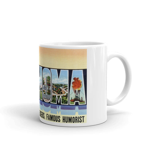Greetings from Oklahoma Unique Coffee Mug, Coffee Cup 2