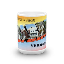 Greetings from Barre Vermont Unique Coffee Mug, Coffee Cup