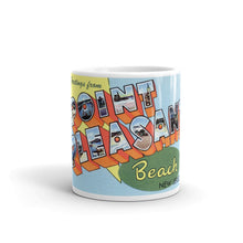 Greetings from Point Pleasant New Jersey Unique Coffee Mug, Coffee Cup