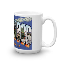 Greetings from Hollywood California Unique Coffee Mug, Coffee Cup 1
