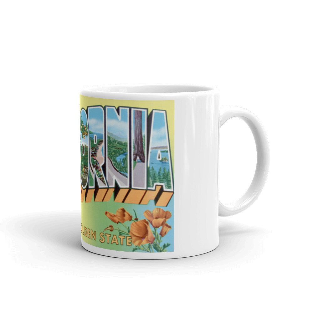 Greetings from California Unique Coffee Mug, Coffee Cup 4