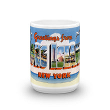 Greetings from Long Island New York Unique Coffee Mug, Coffee Cup 2