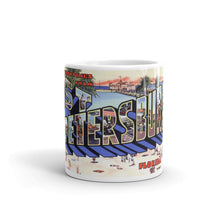 Greetings from St Petersburg Florida Unique Coffee Mug, Coffee Cup