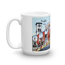 Greetings from Bakersfield California Unique Coffee Mug, Coffee Cup