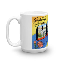 Greetings from Ohio Unique Coffee Mug, Coffee Cup 1