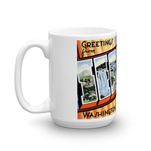Greetings from Seattle Washington Unique Coffee Mug, Coffee Cup 1