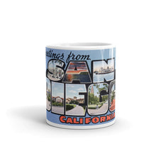 Greetings from San Diego California Unique Coffee Mug, Coffee Cup 1