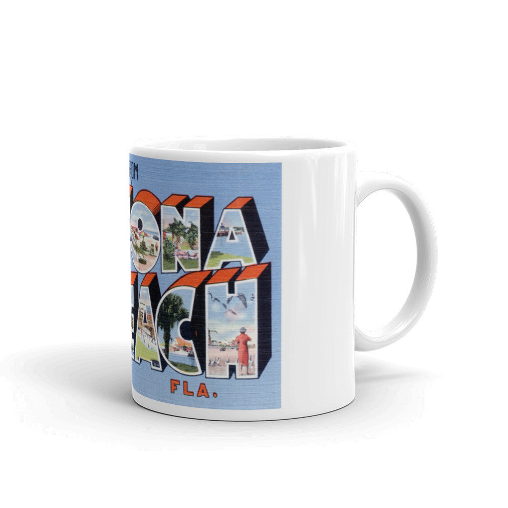 Greetings from Daytona Beach Florida Unique Coffee Mug, Coffee Cup 3