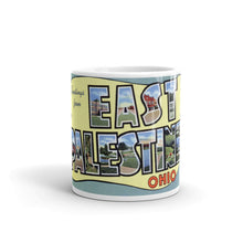Greetings from East Palestine Ohio Unique Coffee Mug, Coffee Cup