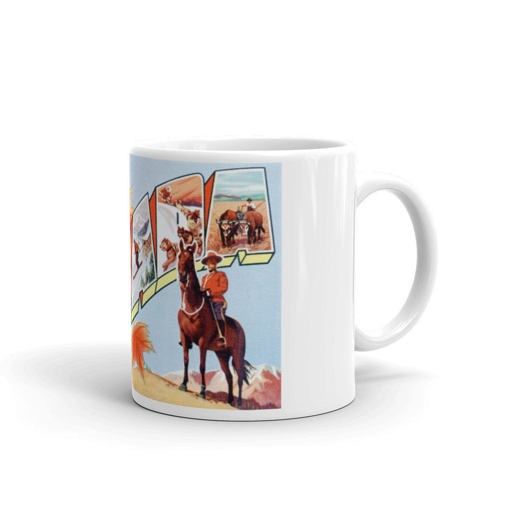 Greetings from Canada Unique Coffee Mug, Coffee Cup 1
