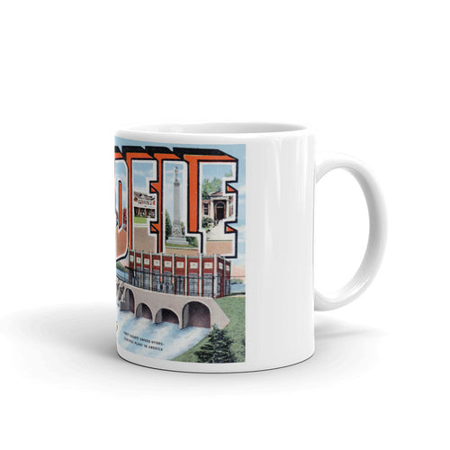 Greetings from Cordele Georgia Unique Coffee Mug, Coffee Cup